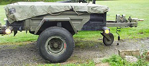 Arrows 1.75 ton military trailer